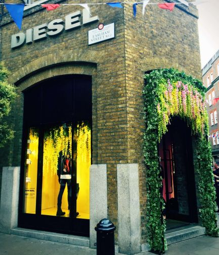 Diesel x LCF, external design, London, August 2016. Photo credit: Novakomms.