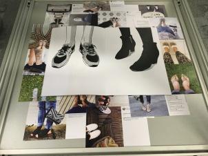 Fashion & Performance, LCF Library display, July 2016.